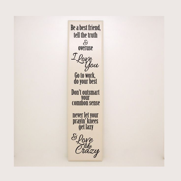 Be a best friend... love like crazy- wedding decor, wedding gift, love wood sign, bedroom decor, anniversary gift, women's gift idea by LEVinyl on Etsy