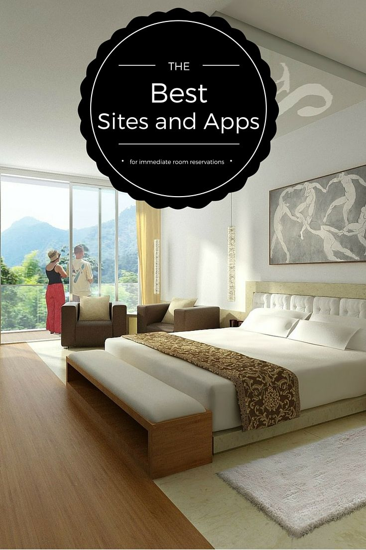 Best travel sites and apps for immediate room reservations, whether you're looking for luxury boutique hotels or comfortable B&B accommodation.