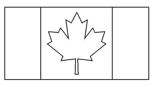 Drapreau : Drapeau du Canada à colorier : 0