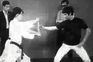 Bruce Lee's one-inch punch. (YouTube)