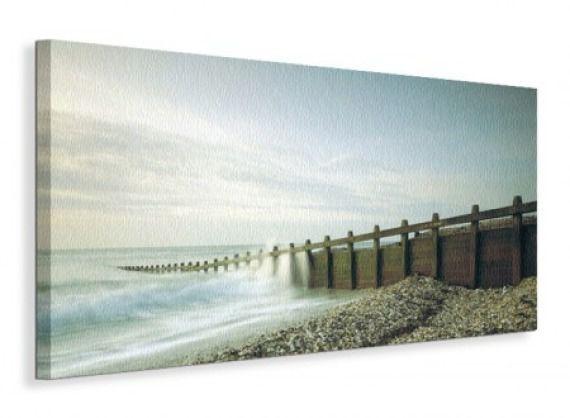 Pebbled Beach - Obraz na płótnie