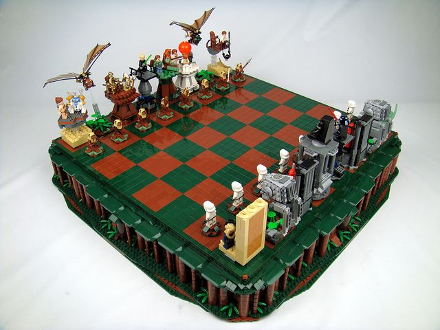 Star Wars: Return of the Jedi Lego Chess by icgetaway, via Flickr: War Chess, Chessset, Lego Chess, Jedi Lego, Lego Stars War, Star Wars, Chess Starwars, Chess Sets, Jedi Chess