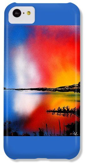 Printed with Fine Art spray painting image Dawn Twilight by Nandor Molnar (When you visit the Shop, change the orientation, background color and image size as you wish)