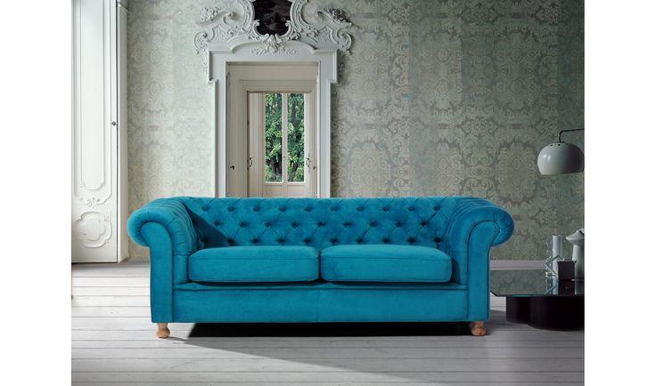 Sofa chester tapizado realizado en madera de haya ... Desde Eur:580 / $771.4