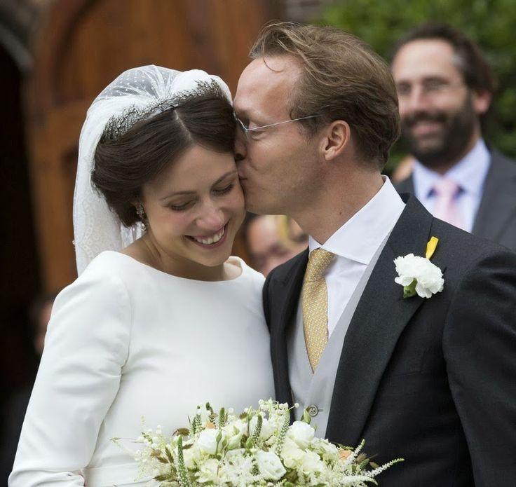 The wedding of Prince Jaime de Bourbon Parme of Netherlands and Viktoria Cservenyak ~ 5 Oct 2013