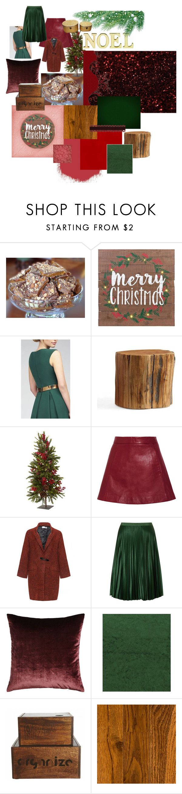 """Decembre 2017"" by marleenbloemstyliste on Polyvore featuring interior, interiors, interior design, thuis, home decor, interior decorating, Mac Duggal, Pottery Barn, Nearly Natural en Ganni"