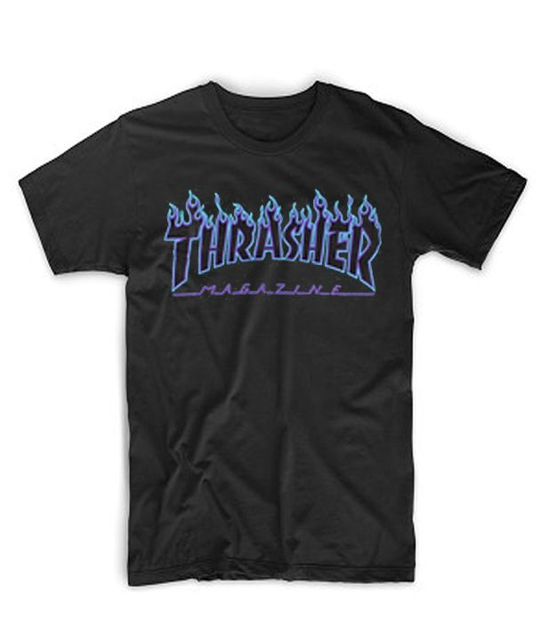 927ce038947c Blue Print Thrasher Magazine Black T-Shirt #casual #cheapclothes #cheaptees  #cheaphoodie #tshirt #shirt #hoodie #tanktop #sweatshirt #comfort #cotton  #daily ...