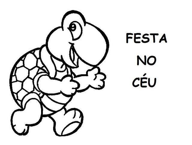 Festa No Ceu Historia Infantil Para Ler E Colorir Festa No Ceu