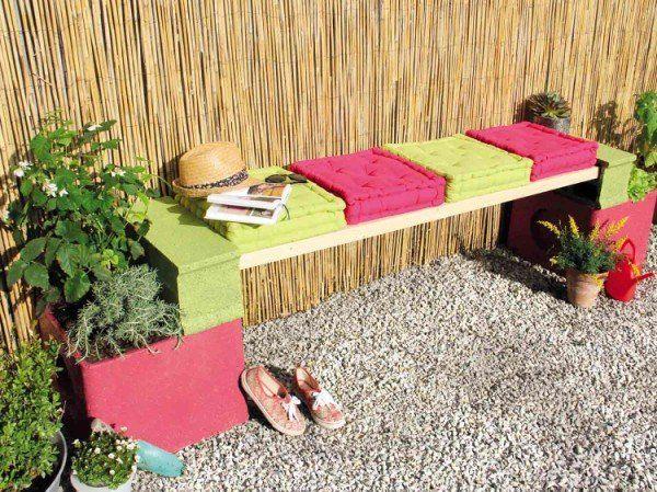 r aliser une banquette jardini re leroy merlin jardin. Black Bedroom Furniture Sets. Home Design Ideas
