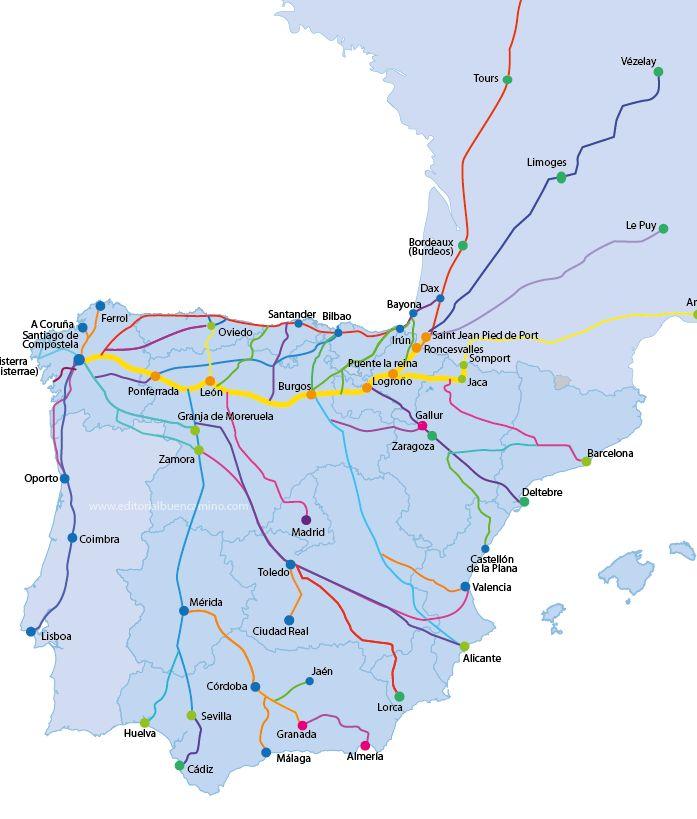 Great Map...Editorial Buen Camino, especializada en el Camino de Santiago