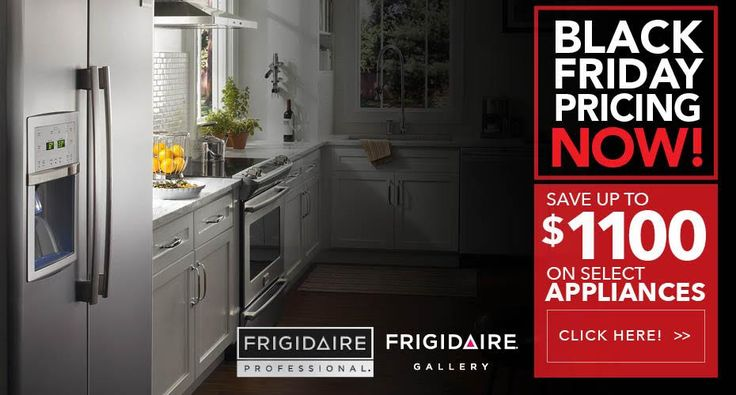 Tomorrow is the LAST DAY to save up to $1100 off select Frigidaire Professional & Frigidaire Gallery products!