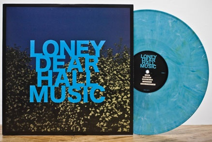 Loney Dear - Hall Music (Cyan) -- OUT OF PRINT