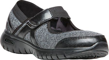 Propet Womens Leona Casual Shoe BlackSilver 8 M US ** You can find out more details at the link of the image.