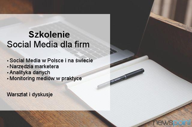"""Organizujemy szkolenie """"Social Media dla firm"""". Nasi eksperci wyjaśnią Wam jak skutecznie prowadzić działania komunikacyjne na facebooku, twitterze, instagramie, youtubie i innych popularnych serwisach. Tylko do końca piątku możecie kupić bilety w specjalnej cenie - zachęcamy! http://socialmediadlafirm.evenea.pl/"""