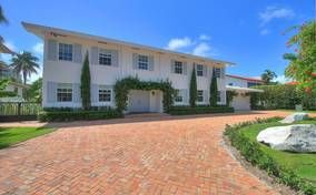 Exclusive Golden Beach Florida remodeled home in walking distance to beach