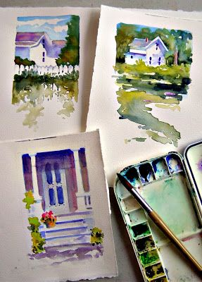 In and Out of The Studio #artjournal
