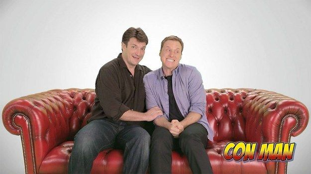 YASSSSSSSS --> On March 10, Alan Tudyk launched an Indiegogo campaign for Con Man, a web series he's producing with Firefly co-star Nathan Fillion. | 7 Things You Need To Know About Nathan Fillion And Alan Tudyk's New Web Series