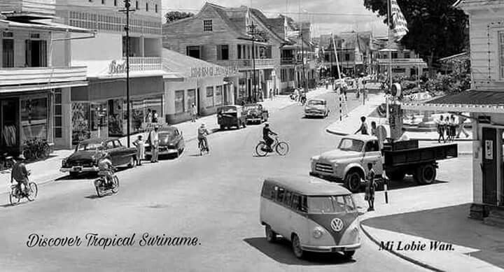 Spanhoek Paramaribo 1950