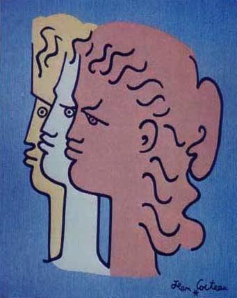 Jean Cocteau. #art #drawing #cocteau