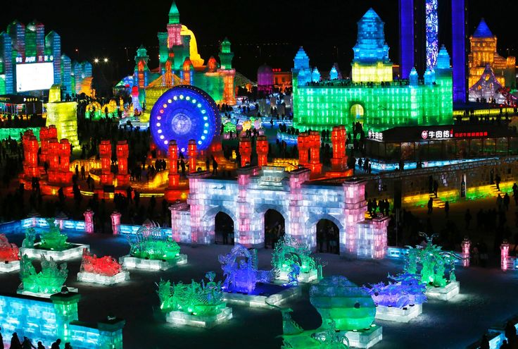 Harbin international ice and snow festival - in pictures