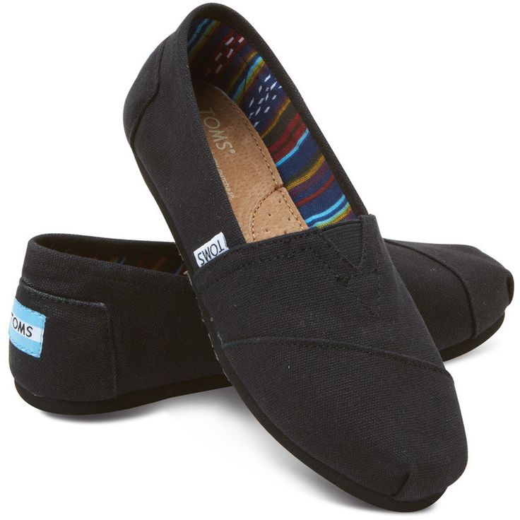 The classic and essential slip ons that threw TOMS into the spot light of footwear fame - also the shoe that started the TOMS one to one movement. A must have casual essential when fancy footwear is j