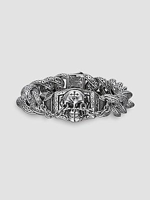Scott Kay UnKaged Skull Bracelet