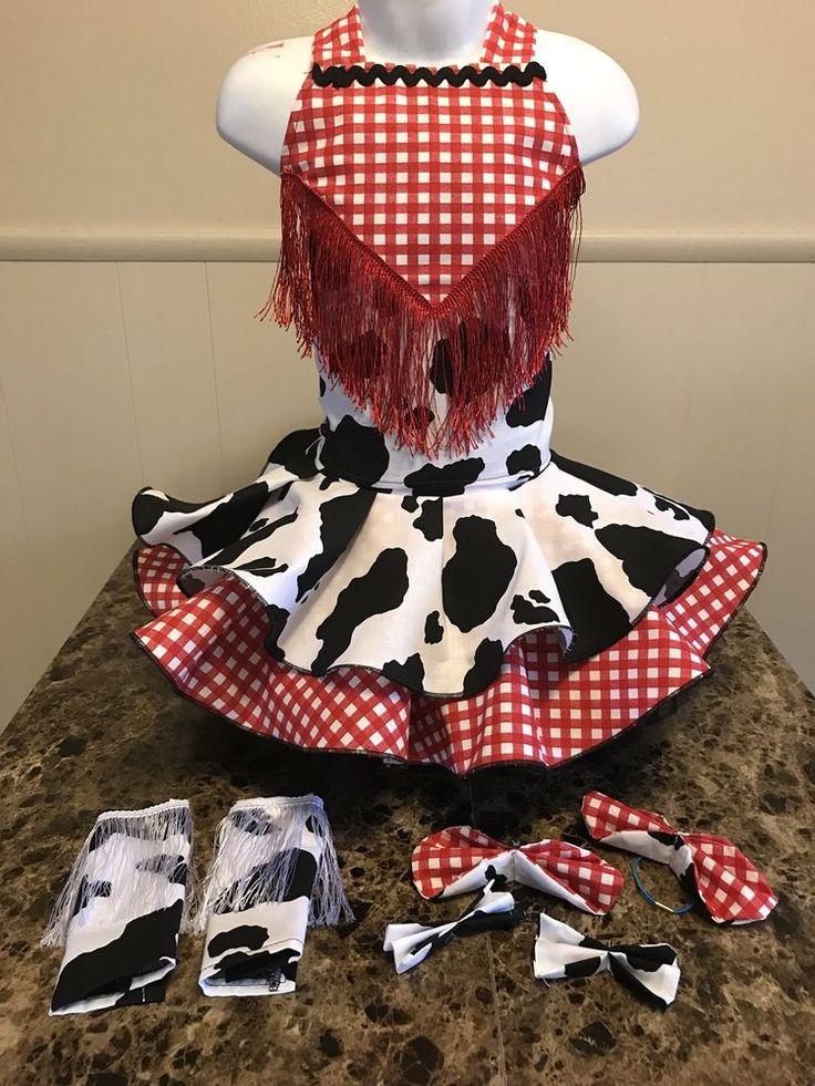 National Pageant Western Wear Casual Wear Dress 3-5t OOC  | eBay