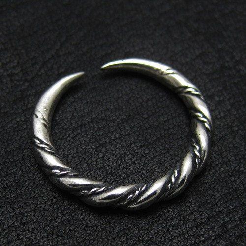 Silver Viking ring from Gotland van Sulik op Etsy