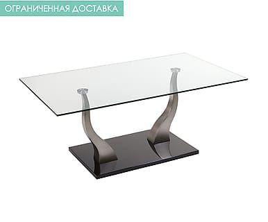 Журнальный стол CLASS - сталь - серебряный, В50,Ш70,Д120