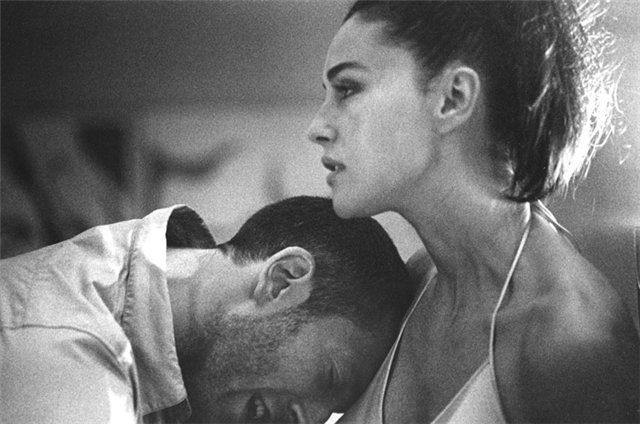 Monica Bellucci with Husband, Vincent Cassel. Credit: Unknown. Where due.