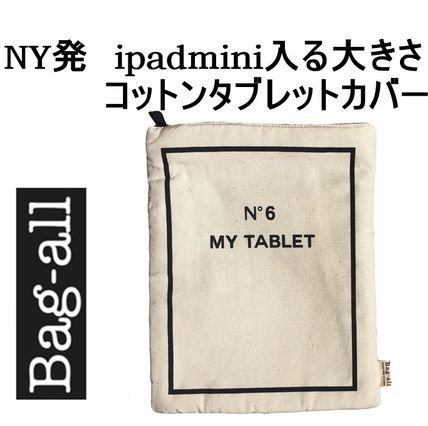 【即納】  NY発   お洒落な     タブレットカバー    Bag all