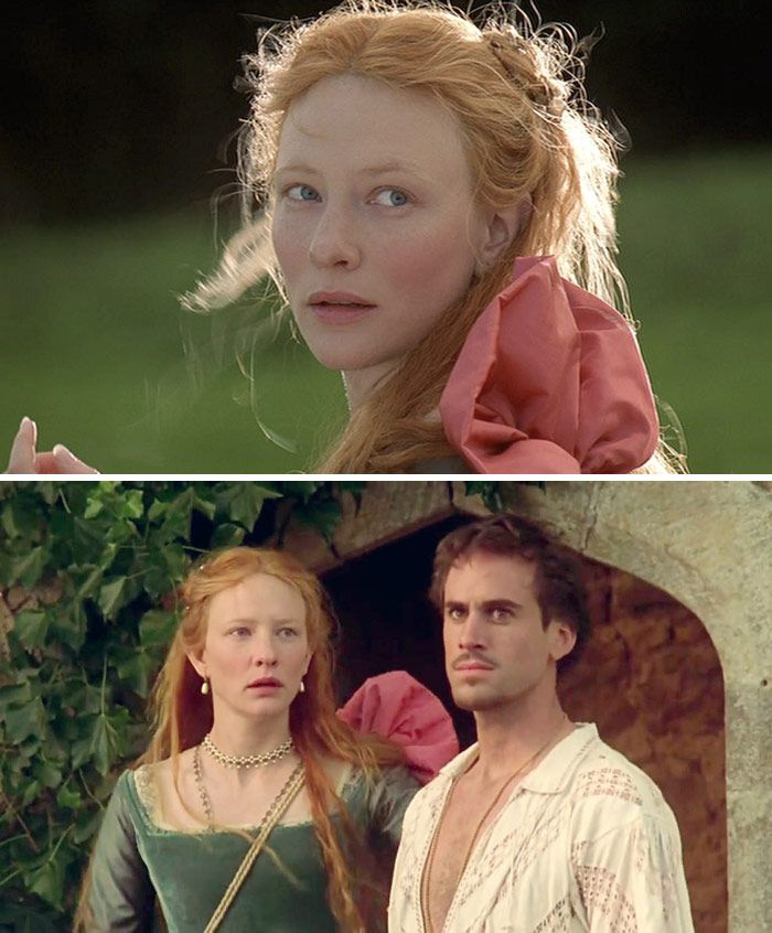 Elizabeth (1998) Starring: Cate Blanchett as Elizabeth I of England, and Joseph Fiennes as Robert Dudley, 1st Earl of Leicester. Princess Elizabeth is summoned to The Tower to answer to for charges of conspiracy and treason.