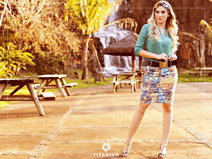 Lindo Look Titanium Jeans Alto Verão 2015