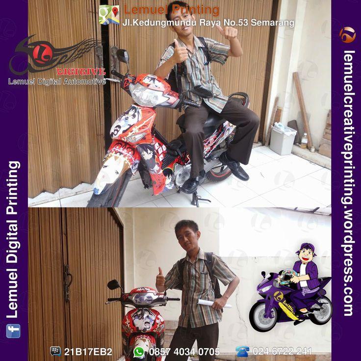 Agan Eksan Member Itansha Semarang #DIGITIVE #DecalVinylStripingMotorFullBody #KreatifitasLeMuel #LeMuel #ProdukProdukKreatifLeMuel #StripingMotorSupraX125 #StripingMotorFullBody #StripingMotorBebek #StripingMotor