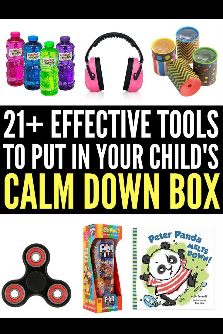 Looking for ideas to put into your child's calm down kit? Perfect for kids with anger management challenges and those with autism, anxiety, ADHD, and other special needs, this collection of tools and ideas will help children cope when big emotions become