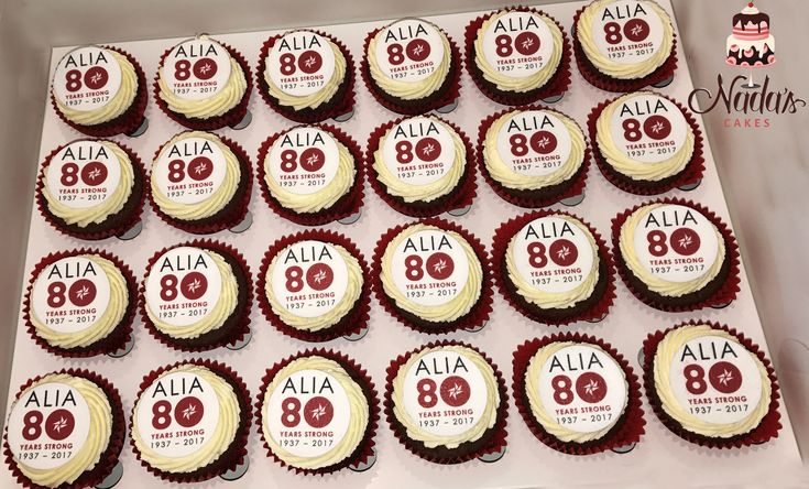 ALIA Celebration Cupcakes