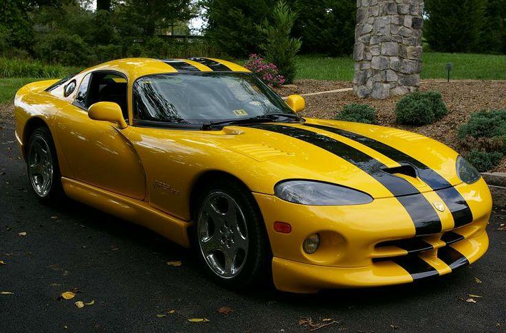 Black N Yellow 2001 Yellow Viper Gts 4 Sale Dodge Ram