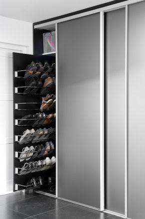 schoenenkast zo maken aan eind bed. | deco en 2018 | pinterest