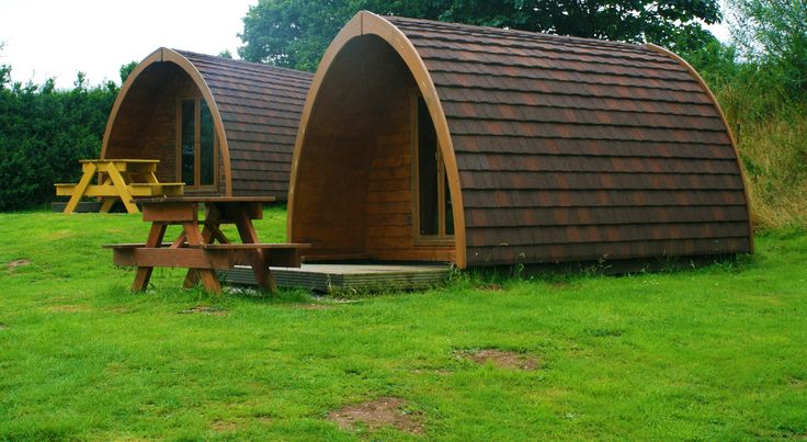 Meadow Lakes camping pods, own parking area, outdoor eating/seating area, barbecue and new WC building, book now for 2014
