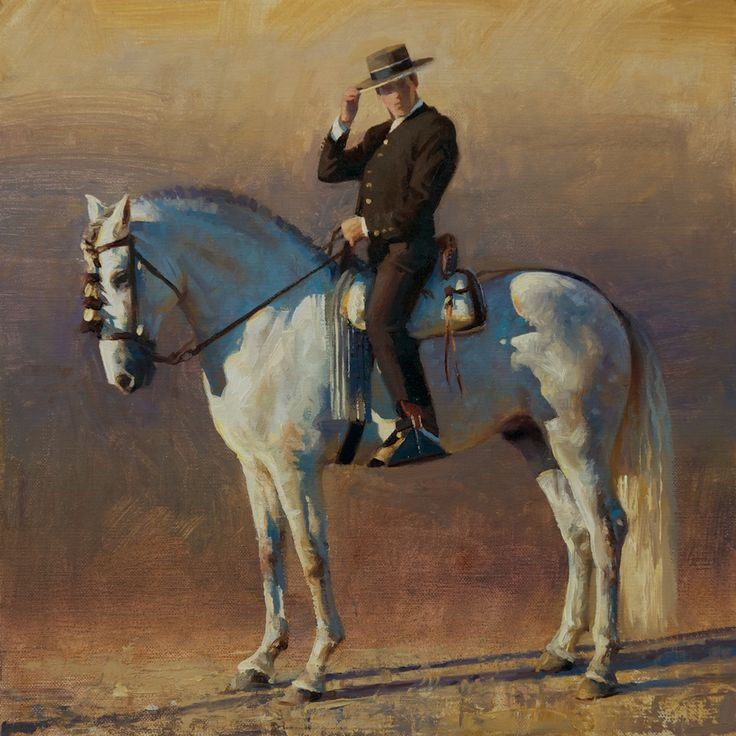 THE ART OF JAMES TENNISON: Andalusian Horseman