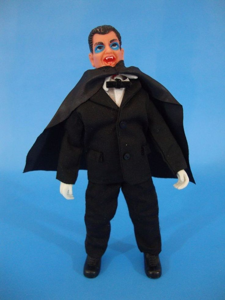 1970's Lincoln Count Dracula Custom Action Figure Universal Monsters  #Lincoln