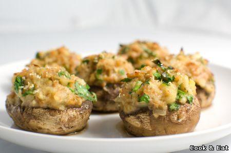 Фаршированные грибы - 11 Декабря 2014 - Cook and Eat