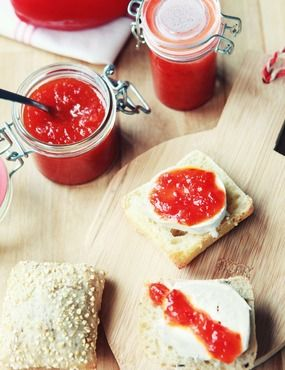 17 mejores ideas sobre frascos de mermelada en pinterest - Mermelada de pimientos rojos ...