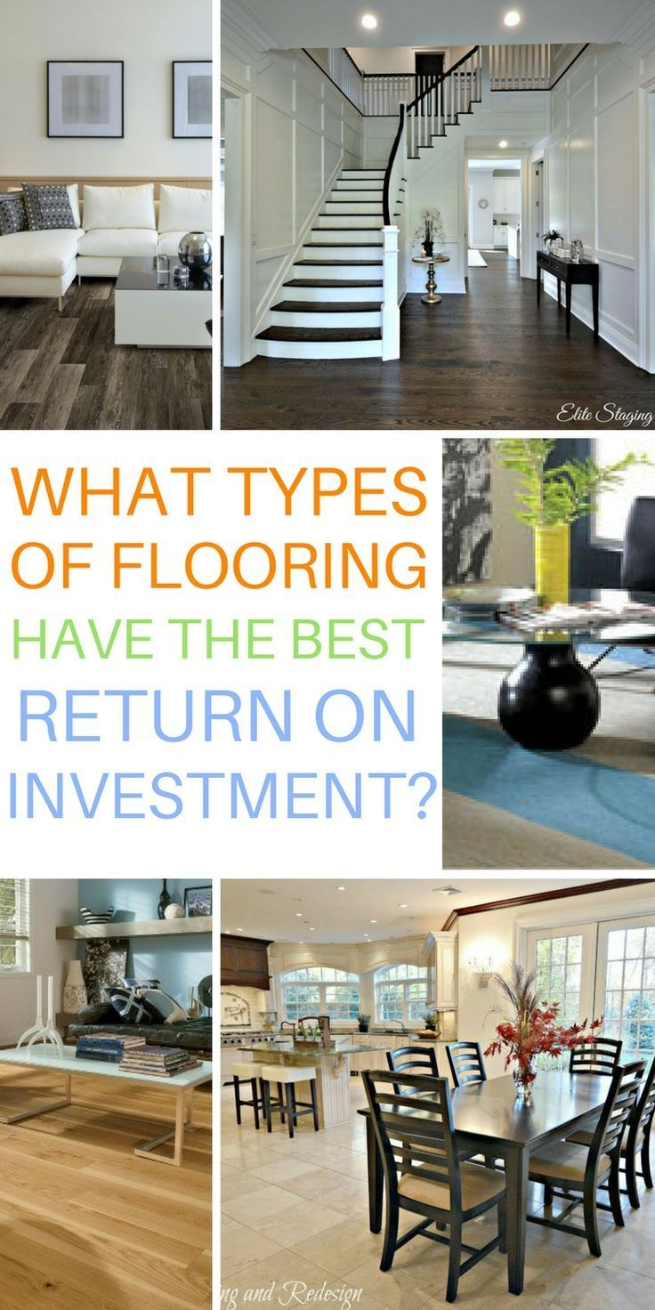 Which types of flooring have the best return on investment (ROI)?  Floors with the highest ROI.  TheFlooringGirl.com