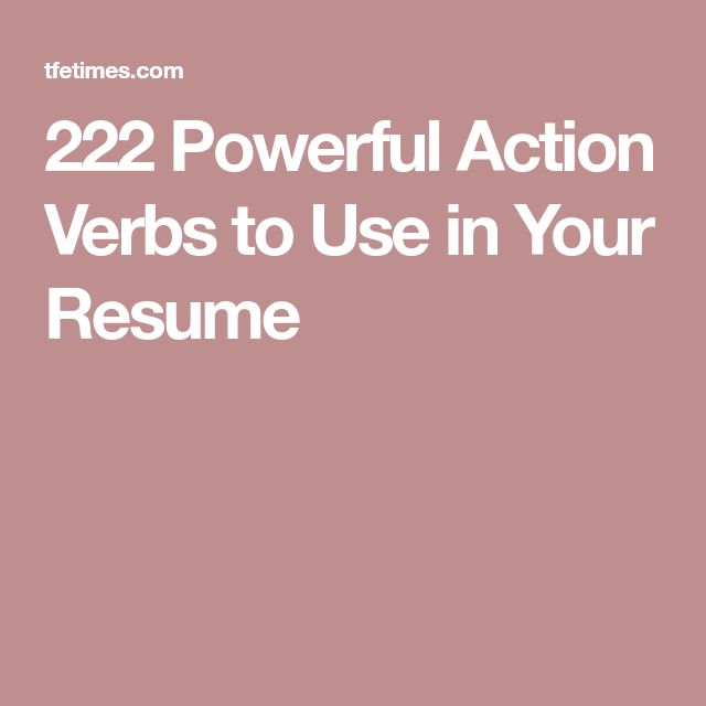 The 25+ best Action verbs ideas on Pinterest Action pictures - resume action words