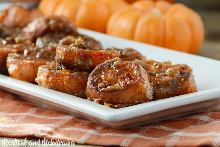 Easy Stove Top Candied Yams made with butter, brown sugar and cinnamon are the perfect Thanksgiving side dish. You'll love this traditional recipe!