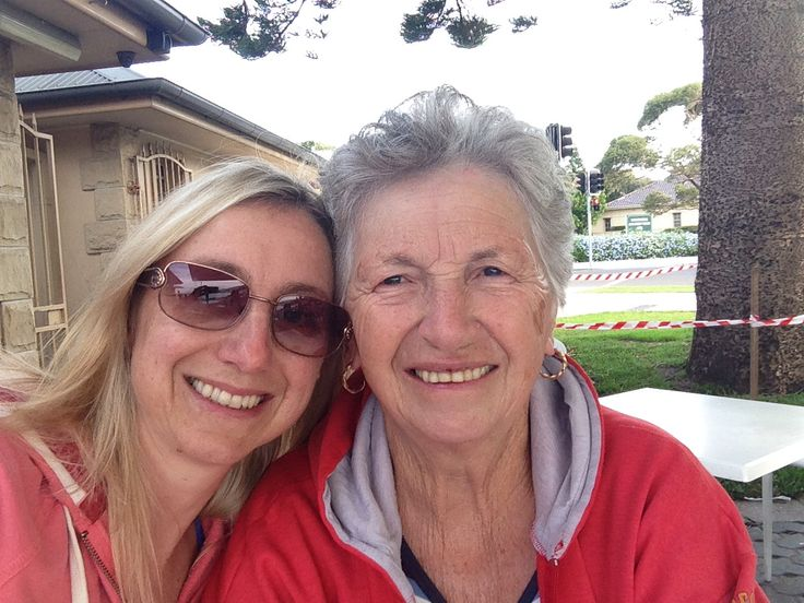 Hanging with my mum down at Belmore Basin 22.4.2014