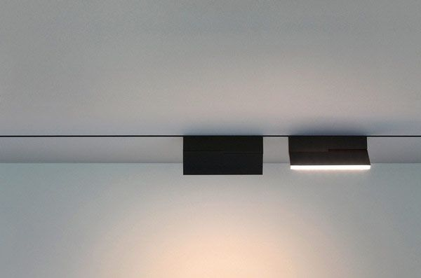 Possible track lighting for home office - (lighting because of duct work, etc had to be off center so we decided on track lighting.. need to find attractive track light).. Bart Lens
