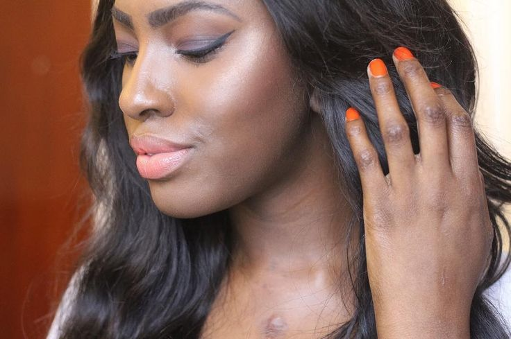 Get warmth and glow to the skin all at the same time with Tropicana blush.  #summer #essential #musthave #dewy #sunkissed #glowy #blusher #woc #friendly #darkskin #rich