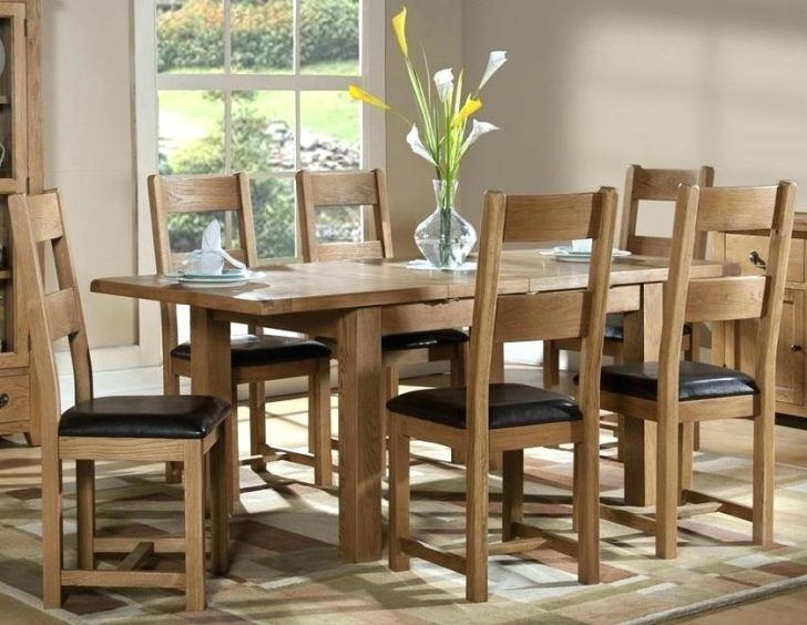 Creative Used Oak Dining Room Table And 6 Chairs 56 For Home